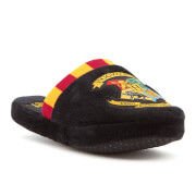 Harry Potter Men's Hogwarts Slippers - Black