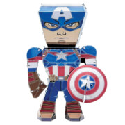 Maquette Marvel Avengers Metal Earth Legends - Captain America