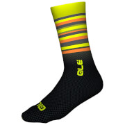 Alé Merino Stripe Winter Socks - Yellow/Black