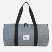 Herschel Supply Co. Men's Sutton Mid-Volume Duffle Bag - Raven Crosshatch/Black