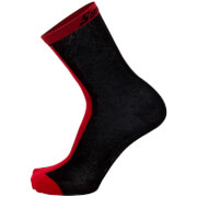 Santini Origine Winter Medium Primaloft Socks - Red
