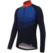 Santini Ocean Winter Long Sleeve Jersey - Black