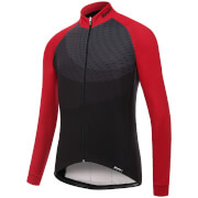 Santini Ocean Winter Long Sleeve Jersey - Red
