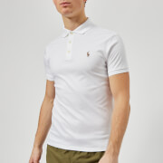 Polo Ralph Lauren Men's Slim Fit Pima Polo - White