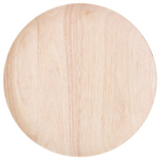 Bloomingville Rubberwood Dinner Plate - Nature