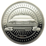 Limited Edition Back to the Future Coin - Silver Edition