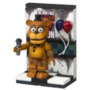 Kit de Construction Five Nights At Freddy's Party Wall avec Freddy (Micro Set) - McFarlane