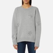 MICHAEL MICHAEL KORS Women's Star Gem Sweatshirt - Pearl Heather