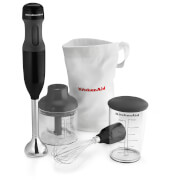 KitchenAid 5KHB1231BOB Classic Hand Blender - Onyx Black