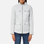 Barbour Women's Dolostone Quilt Jacket - Ice White