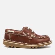 Zapatos Kickers Kick Boatee - Niño - Marrón oscuro