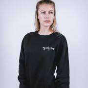 Girl Gains #GirlGains Sweatshirt - Black