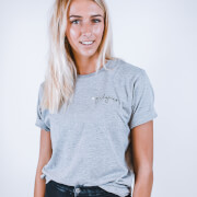 Girl Gains #GirlGains T-Shirt - Grey