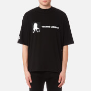 Helmut Lang Men's Techno Jungle Jersey - Black