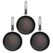 Tefal Harmony Plus 3 Piece Fry Pan Set