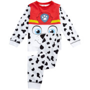 Paw Patrol Boys' Marshall Novelty Pyjamas - White