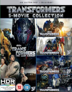 Transformers: 5-Movie Collection - 4K Ultra HD (Bonus Disc)