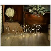 Lyyt Wire Frame Home Lighting Metal Motif - Warm White