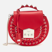 SALAR Women's Claire Pocket Cross Body Bag - Red