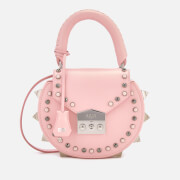 SALAR Women's Mimi Ring Cross Body Bag - Pink