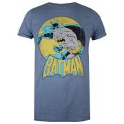 DC Comics Women's Batman Retro T-Shirt - Heather Indigo