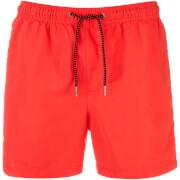 Jack & Jones Men's Originals Sunset Swimshorts - Fiery Coral