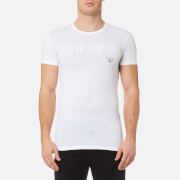 Emporio Armani Men's Stretch Cotton Crew Neck T-Shirt - Bianco