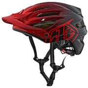 Troy Lee Designs A2 MIPS Starburst MTB Helmet - Red