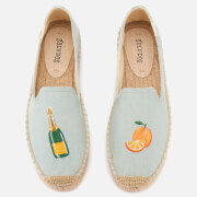 Soludos Women's Mimosa Platform Smoking Slipper Espadrilles - Chambray