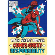 Tin Sign Small - Marvel Spiderman