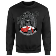 Star Wars Chewbacca Arrrrgh Socks Again Black Christmas Sweatshirt