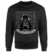 Star Wars Darth Vader Merry Sithmas Kersttrui - Zwart