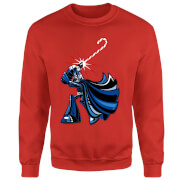 Star Wars Candy Cane Darth Vader Red Christmas Sweatshirt