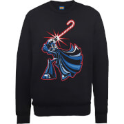 Star Wars Candy Cane Darth Vader Black Christmas Sweatshirt