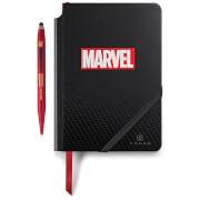 Carnet et Stylo Marvel Cross - Iron Man