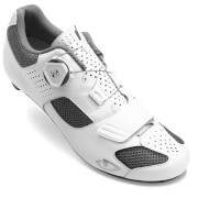 Giro Espada Boa Women's Road Cycling Shoes - White/Silver