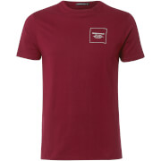 Friend or Faux Men's Hakata T-Shirt - Burgundy