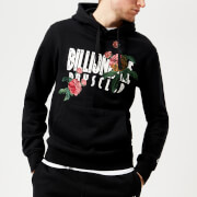 Billionaire Boys Club Men's Embroidered Floral Popover Hoody - Black