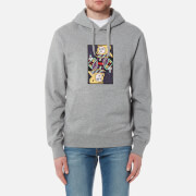 Billionaire Boys Club Men's Omega Patch Popover Hoody - Heather Grey