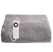 Dreamland Relaxwell 16447 Velvety Electric Heated Throw (120 x 160cm) - Grey