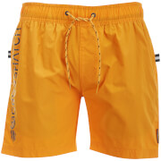 Short de Bain Kavana Crosshatch - Orange
