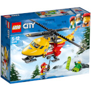 LEGO City: Helicóptero-ambulancia (60179)