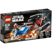LEGO Star Wars: A-wing™ vs. TIE Silencer™ microfighters (75196)