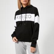 KENZO Women's Cotton Skate Jersey Hooded Jumper - Black