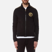 Versace Collection Men's Zipped Sweatshirt - Nero
