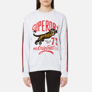 Superdry Women's Original Tiger Crew Sweatshirt - Ice Grey