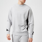 Versus Versace Men's Collar Logo Sweatshirt - Grey/Black