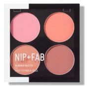 NIP+FAB Make Up Blusher Palette - Blushed 15.2g