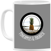 Pineapples and Paradise Mug