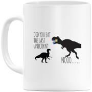 Dinosaur Unicorn Mug